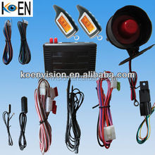 Funny Easy Install Car Alarm With PKE LCD Remote Control, Keyless Entry System
