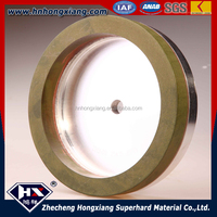 CBN resin bond diamond grinding wheel for glass