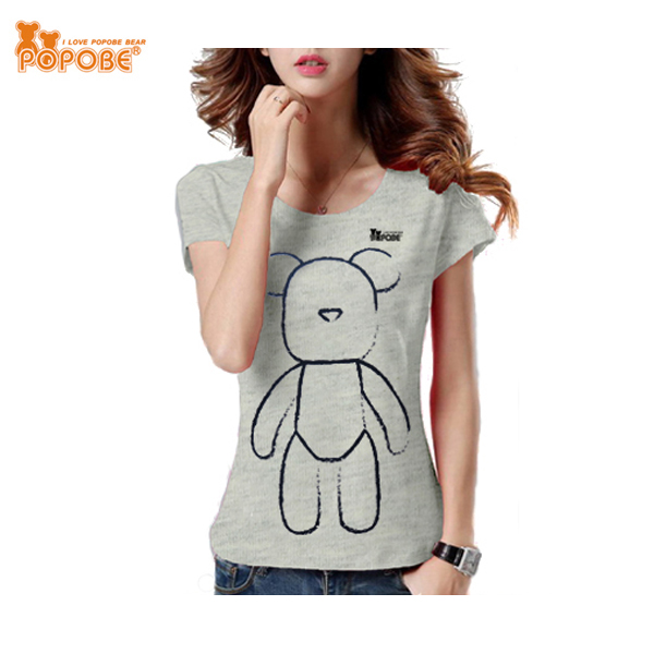 New Arrival Top Fashion Girl T Shirt Casual Style Girl Shirt Cotton T-Shirt