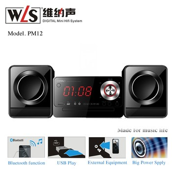 Micro Hi-Fi Systeme from WLS model PM12 with multi function USB AUX to Phone