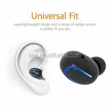 2017 smallest wireless earbud wholesale, mini handfree mono bluetooth earphone