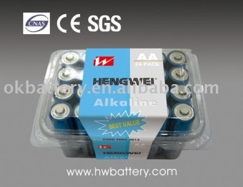 LR6-24/PLASTIC BOX DRY BATTERY