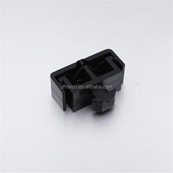 365.03A.01factory supplied aluminium profiles accessories 8/10 slot black Nylon double holes cable holding clips clamp