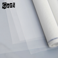 Gezi factory nylon polyester 15 micron filter mesh in white color