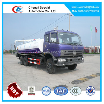 DongFeng 14-16 tons 6*4 supper power fecal suction truck