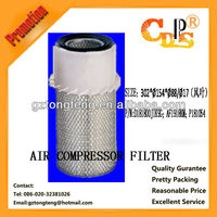 Kobelco hyundai air compressor filter factory price good quality