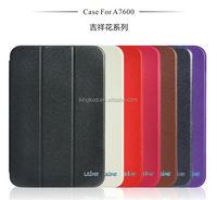 High quality tablet shockproof PU leather protective cover case for lenovo tab 2 a10-70f A7600