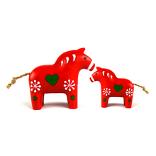 roogo New promotion rocking horse figurines for sale