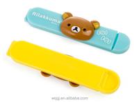 Wholesale Custom Creative Cartoon Plastic Fresh Clip Kitchen Tools Bag Food Cartoon Sealing Clip