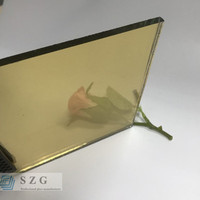 Excellent quality dark brown bronze reflective coated glass cost