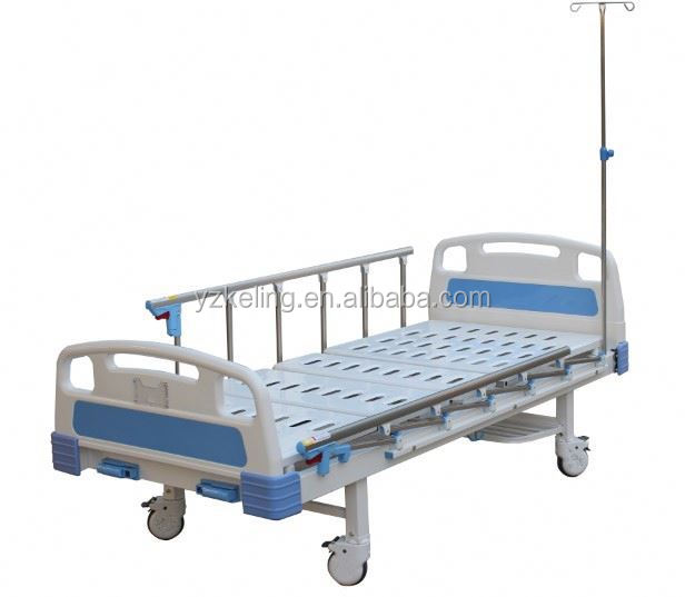 cheap stainless steel hospital flat bed hospital hydraulic patient trolley stretcher hospital gurney