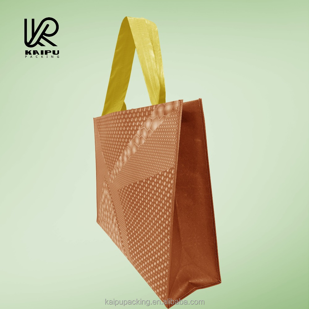 Printing on non woven polypropylene grocery eco frendly bags