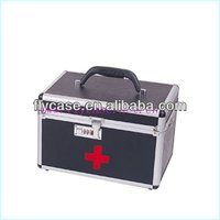 Aluminum black carrying top quality handy wholesale first aid kit at affordable price