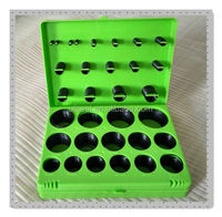 AS568 382PCS rubber o-ring box/o-ring kit set repair box