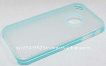 For Iphone 4 two-color ABS combo case with new design!