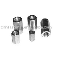 Stainless steel hexagon coupling nuts