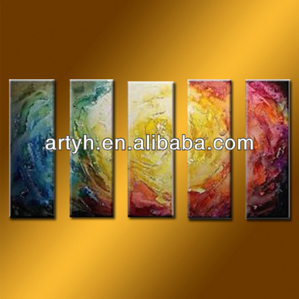 Handmade Colors Abstract Oil Painting On Canvas