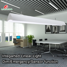 modern office ceiling tube led hanging lamp