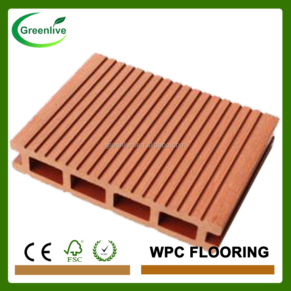 Engineer patio wood floor coverings