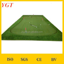 make miniature golf putting green