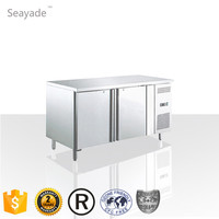 CFC Free High Energy Efficiency Air Cooling Restaurant Fridge