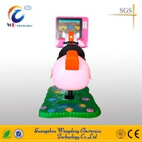 17 inch screen 3D video kids horse racing for game room