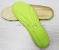 full length sweat absorption comfortable insoles leather shoes insoles manufacturer
