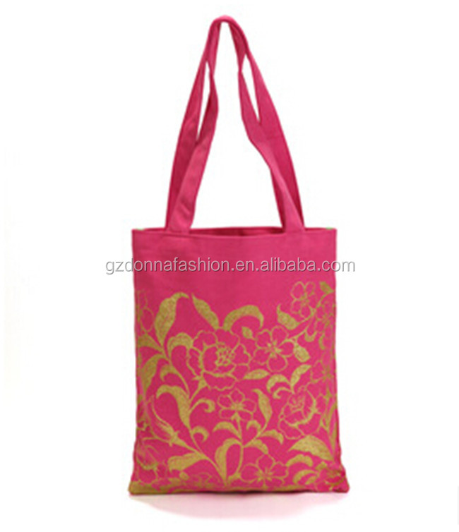 New Arrival Wholesale Custom Cotton Canvas DNBG3SB002 Tote Bags