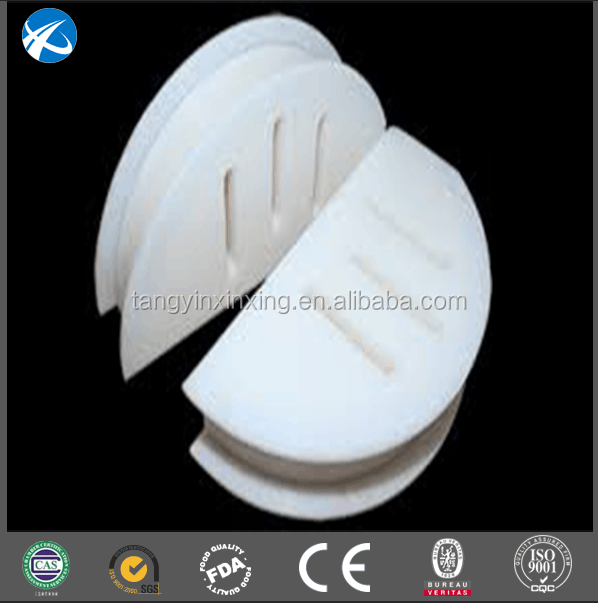 UHMWPE wearing block with special shape