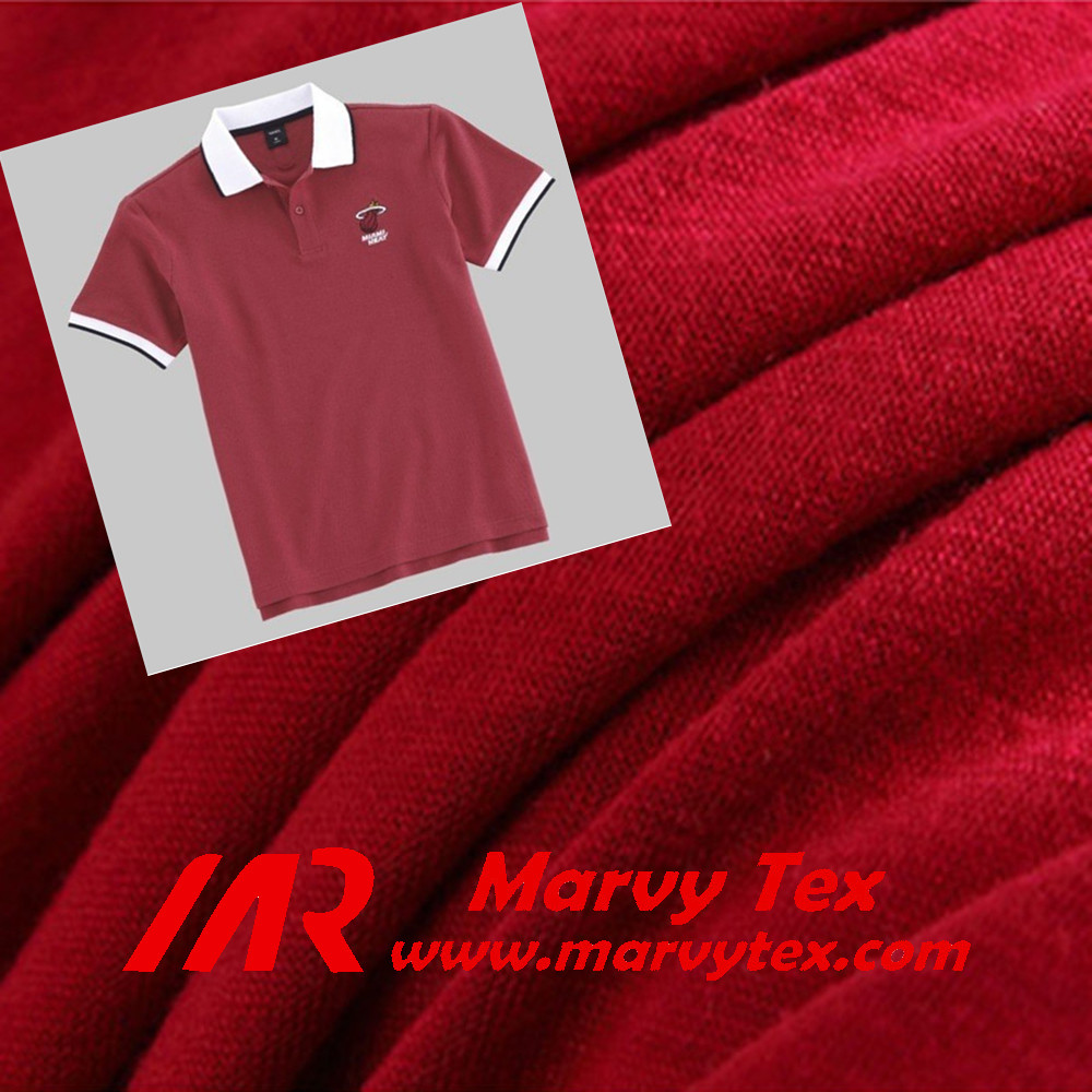 solid&print garments in all color for fashion design single jersey for polo shirt school garment