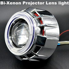 xenon bulbs h4 low hid bi xenon projector lens light angel eyes and devil eyes