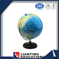 plastic world globe with different size