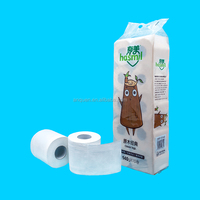 Soft and smooth bamboo toilet paper toilet tissue bath paper roll