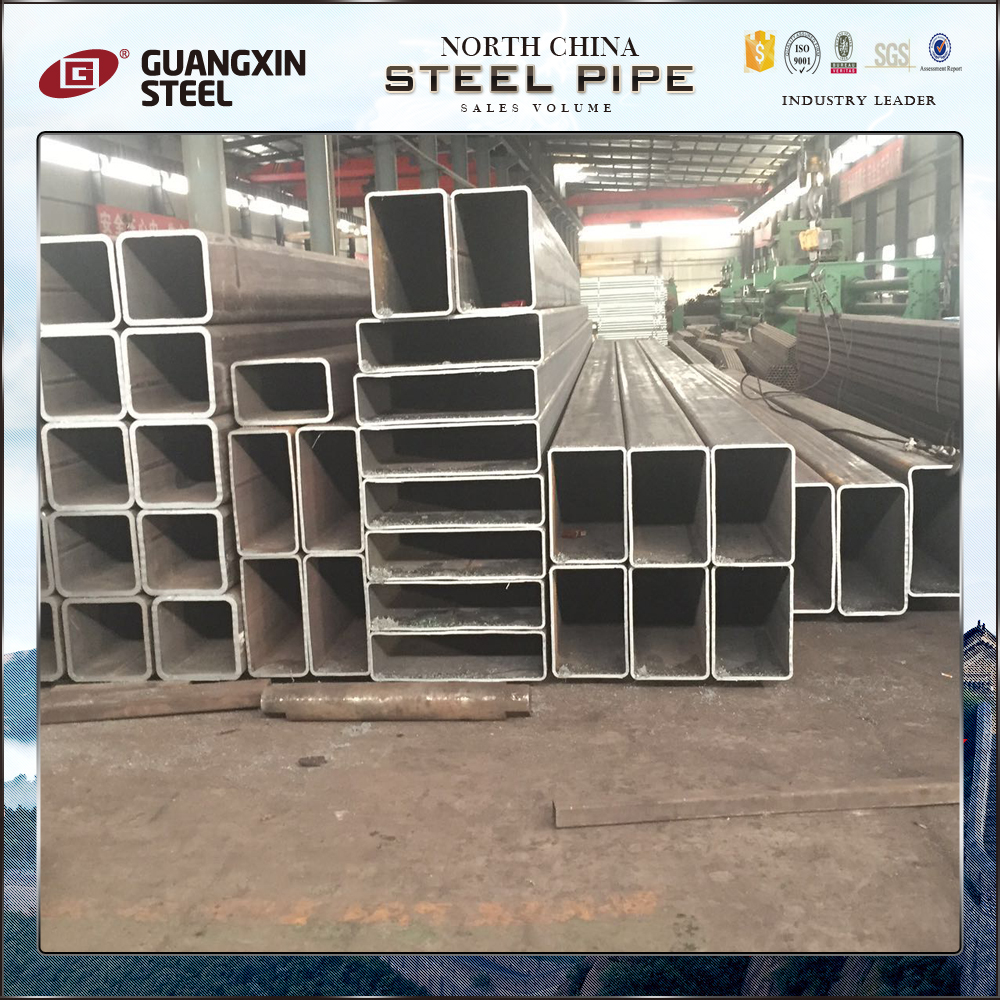 erw square welded hollow steel carbon rectangular tube export to dubai