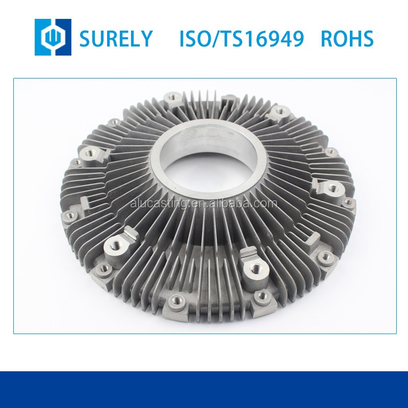 All kinds of mechanical parts modern design superior hot sale aluminium alloy sand casting impeller