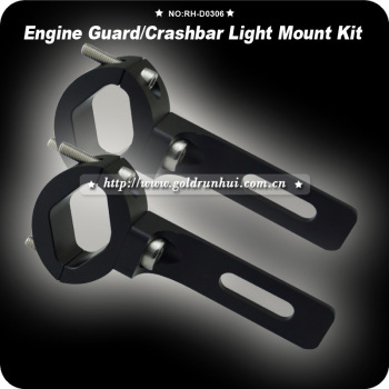 Spotlight Light Mounting Bracket Lamp Motorcycle Fork Clamp 24~35mm