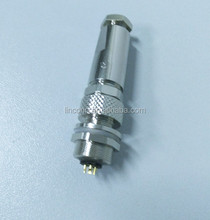 4pin 3pin waterproof connector, male female m9 connector China suppliers