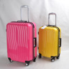Carry-on Trolley Case Hard side Spinner Suitcase PC+ABS Luggage (DC-7102)