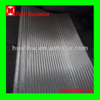 "65mm or 2-1/2"" heat resistant corrugated aluminum sheet"