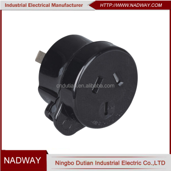 10A side entry plug piggyback plug