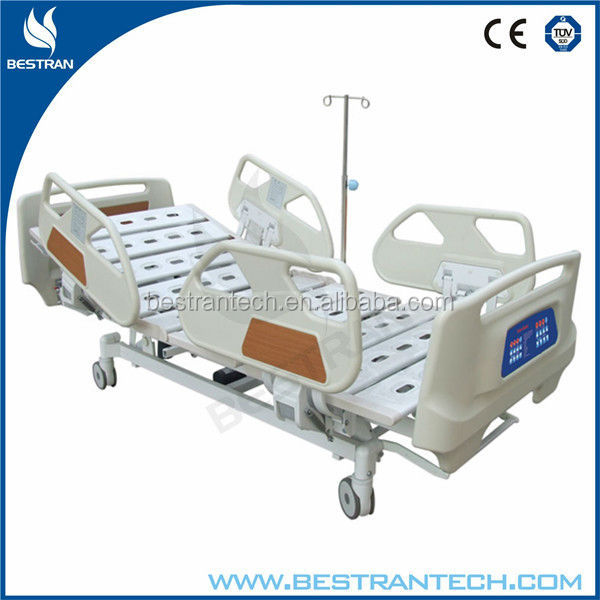 China BT-AE017 multi function linak electric hospital intensive care bed, bed type medical air cushion and mattress