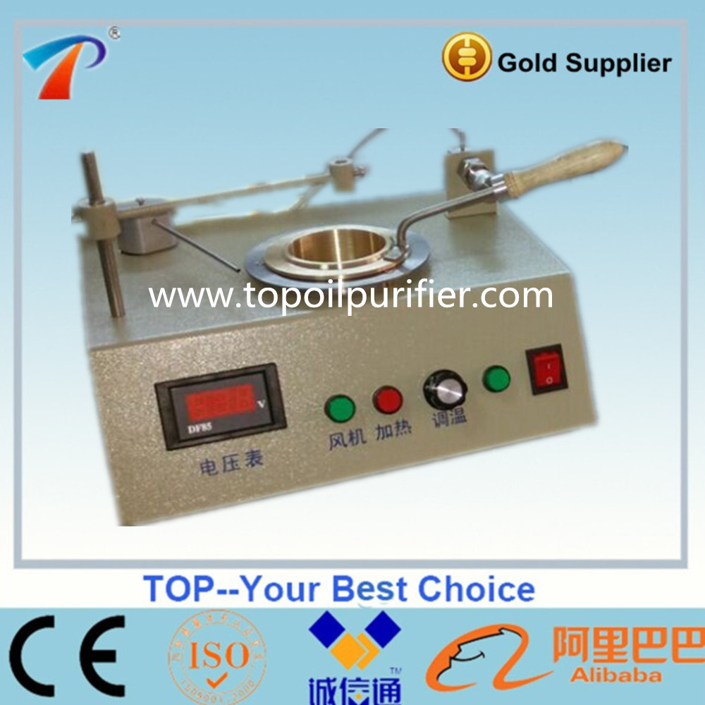 TPO-100 Model Open Cup Method Flash Point Tester