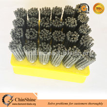 High quality abrasive frankfurt silicon carbide polishing brush for marble granite stone