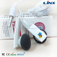 Beauty cartoon earbuds for mobilephone
