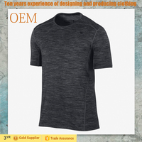 OEM ODM FACTORY Men Fashion Slim Fit Workout Clothes Custom Made Sports Gym wear Quick Dry t shirts