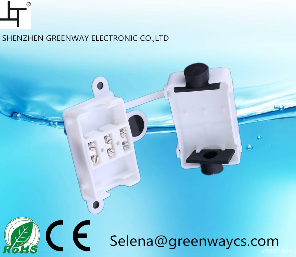 Greenway hot sale M644 Electrical equipment supplies 10a 250v plastic junction box ip 44