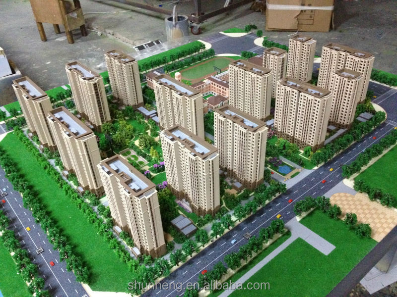 architectural scale model for Xuzhou B2-1 business park