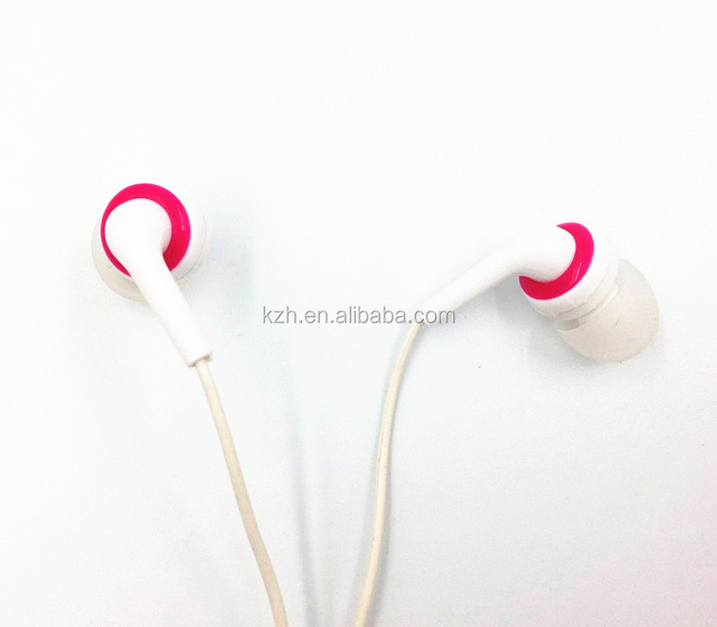 heavy bass MP3 colourful in ear earphone with MIC