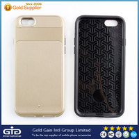 Small MOQ- Hotselling Matt PC+ TPU phone case for iphone 6 Protector