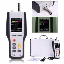 Mini / handheld particle counter/ detector, Professional PM2.5 Dust Air Quality Monitoring